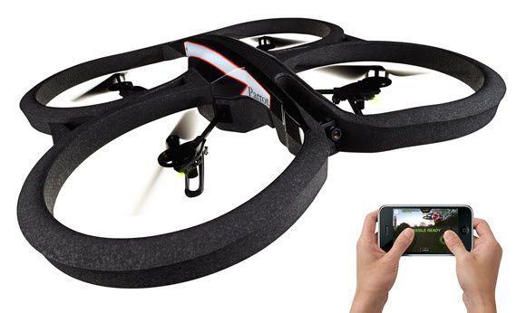 Parrot AR Drone 2.0 kamera