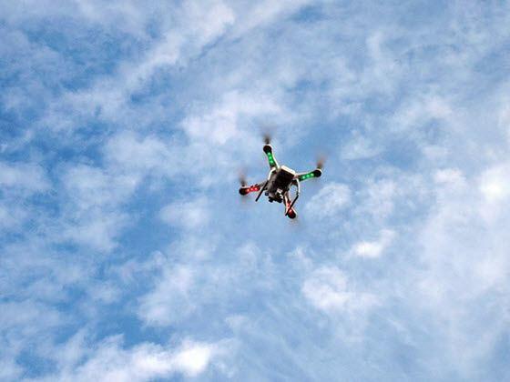 Droner flyvetid