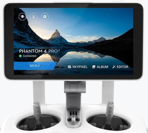Stor skærm til Phantom 4 pro fra DJI droner